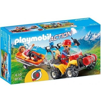 Playmobil Playmobil Action Reddingsquad met Draagberrie 9130