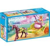 Playmobil Playmobil Fairies Bloemenfee met Eenhoornkoets 9136