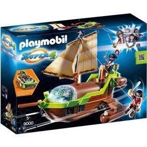Playmobil Super 4 Galjoen Kameleon met Ruby 9000