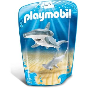 Playmobil Family Fun Hamerhaai met Jong 9065