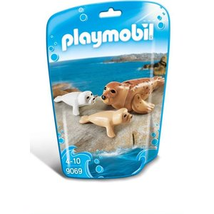 Playmobil Family Fun Zeehond met Pups 9069