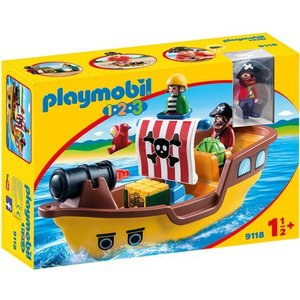 Playmobil 123 Piratenschip 9118
