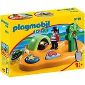Playmobil Playmobil 123 Pirateneiland 9119