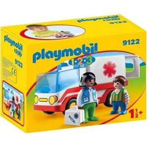 Playmobil 123 Ziekenwagen 9122
