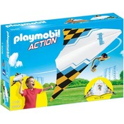 Playmobil Playmobil Action Zweefvlieger Blauw 9206