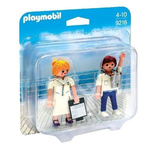 Playmobil Duopack Steward en Stewardess 9216