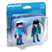 Playmobil Playmobil Duopack Politieagent en Dief 9218