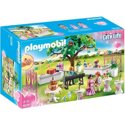 Playmobil Playmobil City Life Bruiloftsfeest 9228