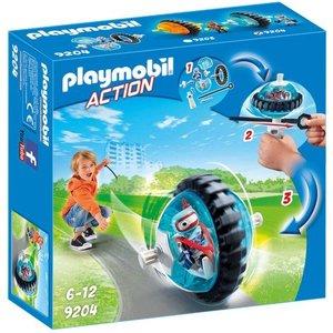 Playmobil Action Monobike blauw 9204