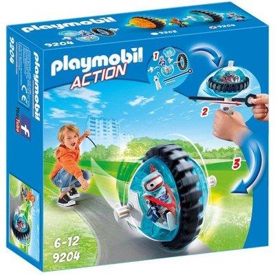 Playmobil Playmobil Action Monobike blauw 9204