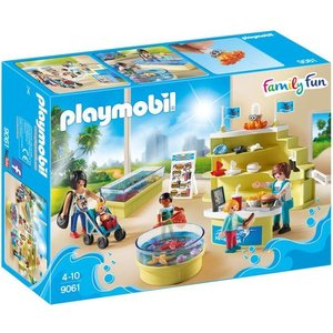 Playmobil Family Fun Aquariumshop 9061