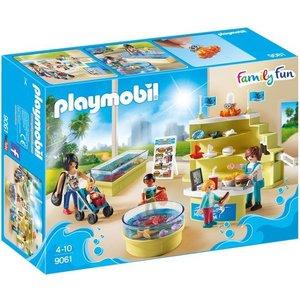 Playmobil Family Fun Aquariumshop 9061
