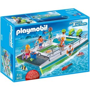 Playmobil Sports & Action Glasboot met Onderwatermotor 9233