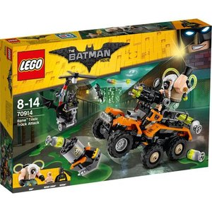 Lego Batman the Movie Bane Giftruckaanval 70914