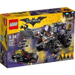 Lego Batman the Movie Two Face Double Demolition 70915