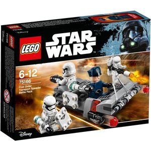 Lego Star Wars First Order Transporter Speeder Battle Pack 75166
