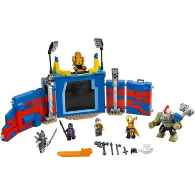 Lego Lego Super Heroes Thor vs. Hulk Arena Gevecht 76088