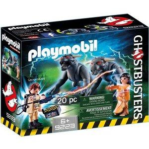 Playmobil Ghostbusters Venkman en Terror Dogs 9223