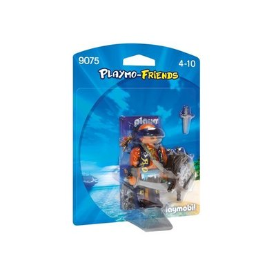 Playmobil Playmobil Playmo Friends Piraat met Schild 9075