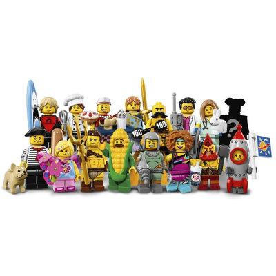 Lego Lego Minifigures Limited Edition Serie 17 71018