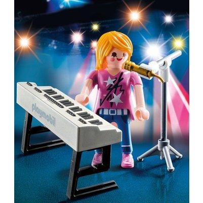 Playmobil Playmobil Special Plus Zangeres met Keyboard 9095