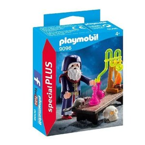 Playmobil Special Plus Tovenaar met Laboratorium 9096