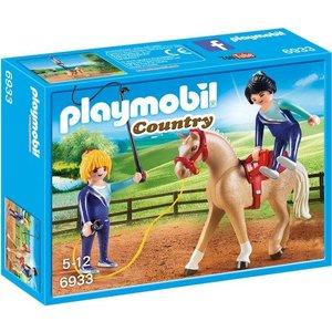 Playmobil Country Voltige Team met Paard 6933
