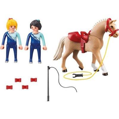 Playmobil Playmobil Country Voltige Team met Paard 6933