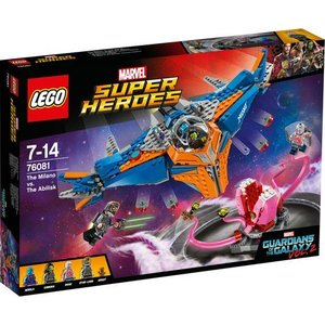 Lego Super Heroes The Milano vs The Abilisk 76081