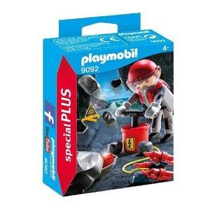 Playmobil Special Plus Explosieven Expert 9092