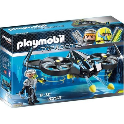 Playmobil Playmobil Top Agents Megadrone 9253