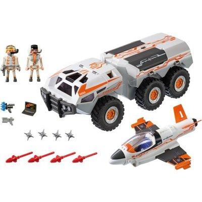 Playmobil Playmobil Top Agents Spyteam Gevechtstruck 9255