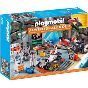 Playmobil Top Agents Adventskalender 9263