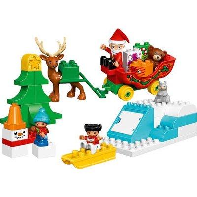 Lego Duplo Lego Duplo Wintervakantie van de Kerstman 10837