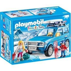 Playmobil Family Fun 4X4 met Dakkoffer 9281