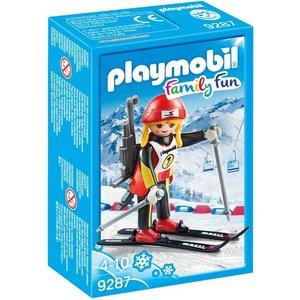 Playmobil Family Fun Biatlete 9287