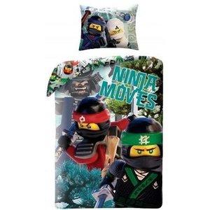 Lego Ninjago the Movie Ninja Moves Dekbedovertrek 700174