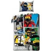 Lego Lego Ninjago the Movie So Ninja Dekbedovertrek 700175