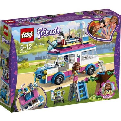 Lego Lego Friends Olivia's Missievoertuig 41333