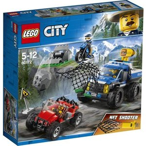 Lego City Modderweg Achtervolging 60172