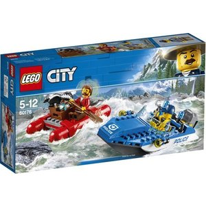 Lego City Wilde Rivier Ontsnapping 60176