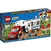 Lego Lego City Pick-up Truck en Caravan 60182