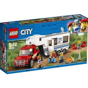 Lego City Pick-up Truck en Caravan 60182