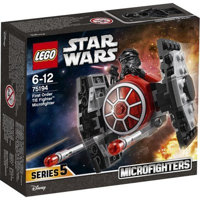 Lego Lego Star Wars First Order TIE Fighter Microfighter 75194