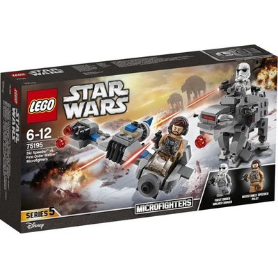 Lego Lego Star Wars Ski Speeder vs First Order Walker Microfighter 75195