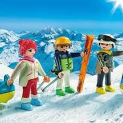 Playmobil Family Fun Wintersport