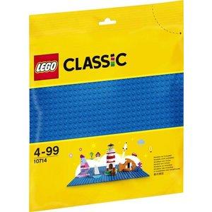 Lego Classic Blauwe Bouwplaat 10714