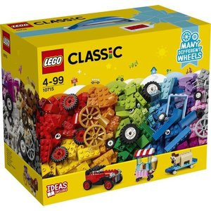 Lego Classic Stenen op Wielen 10715