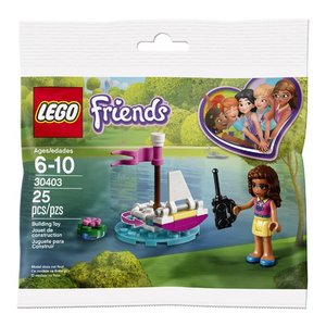 Lego Friends Olivia's RC Boot (Polybag) 30403