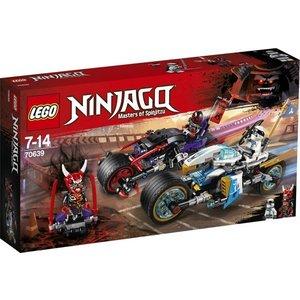 Lego Ninjago Straatrace van de Slangenjaguar 70639